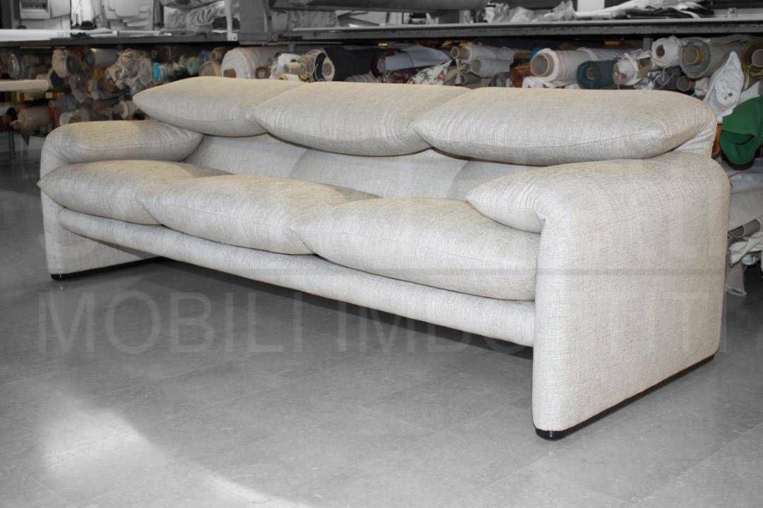 Divano letto cassina cheap successivo with divano letto divano cassina maralunga - Divano maralunga cassina ...