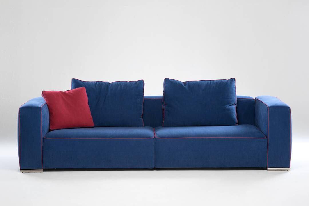 Divano su progetto modello cesar divani su misura in pelle - Divano su misura ...