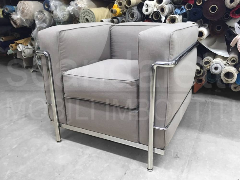 Cassina lc1 lc2 lc3 lc4 scandaletti for Poltrona lc2