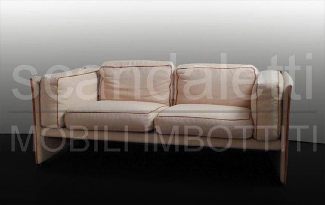 Restauro e nuovo rivestimento divano e poltrona cassina 405 duc - Divano letto cassina ...