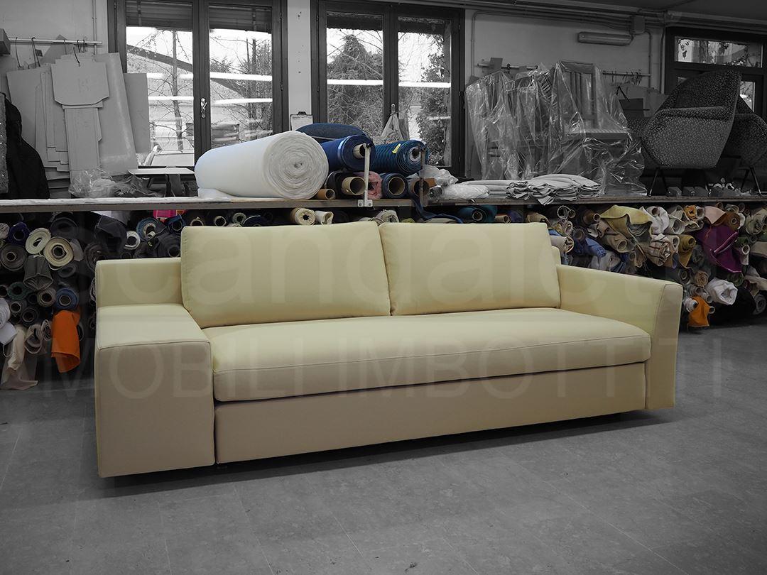 Restauro divano e pouf cassina mister rifacimento - Divano letto cassina ...