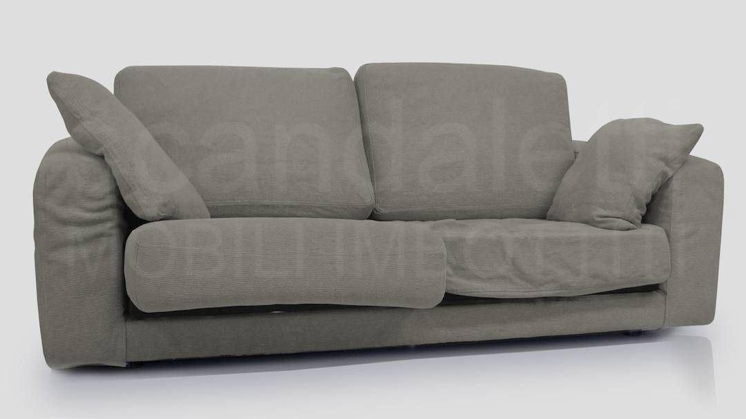 Restauro e nuovo rivestimento divano cinova modello sibari - Cinova divani letto ...