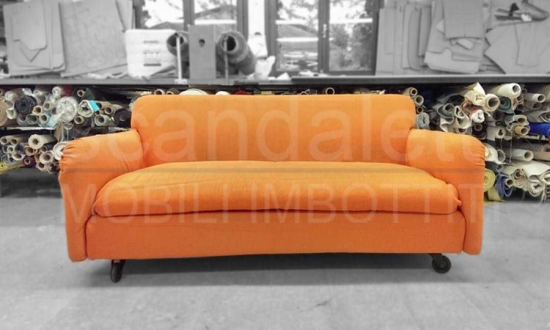 Restauro e nuovo rivestimento divano de padova modello assuan - Divano de padova usato ...