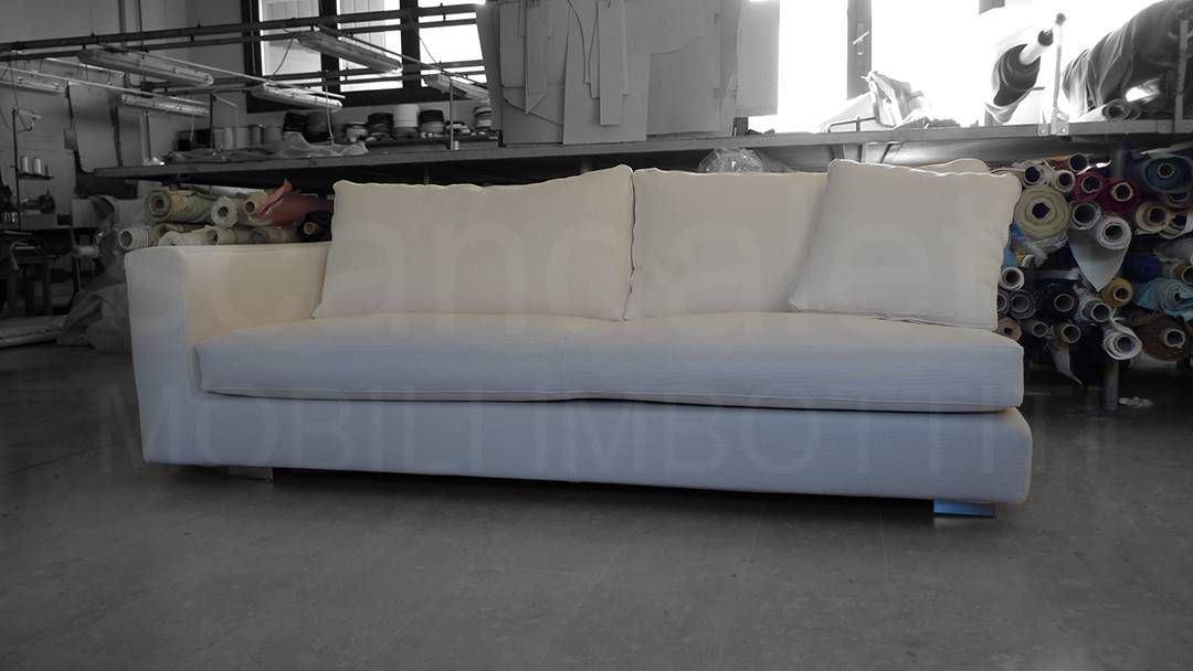 Restauro e nuovo rivestimento divano minotti hamilton - Rifacimento cuscini divano ...