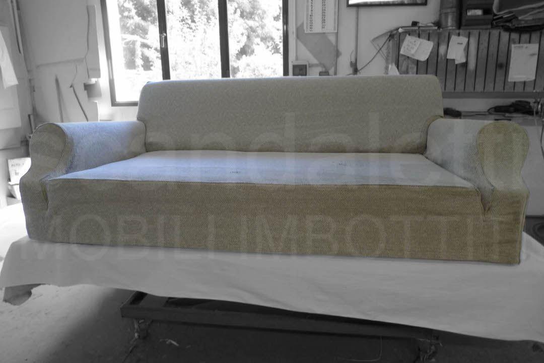 Rifacimento divano cassina lazy restauro poltrona cassina lazy - Divano letto cassina ...