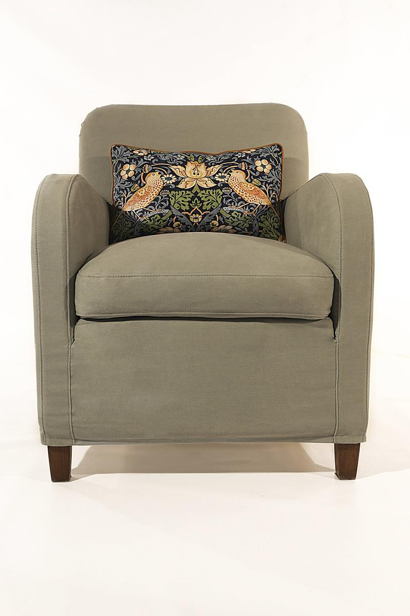 custom made armchair made in Italy