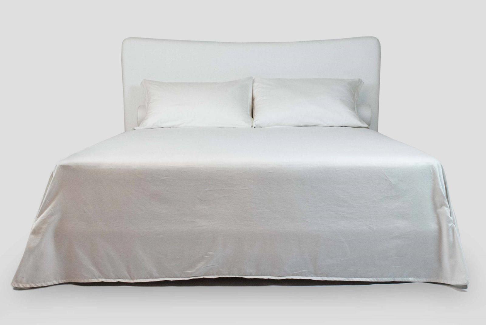 upholstered custom made bed