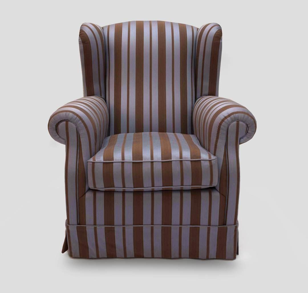 custom made armchair meda in Italy