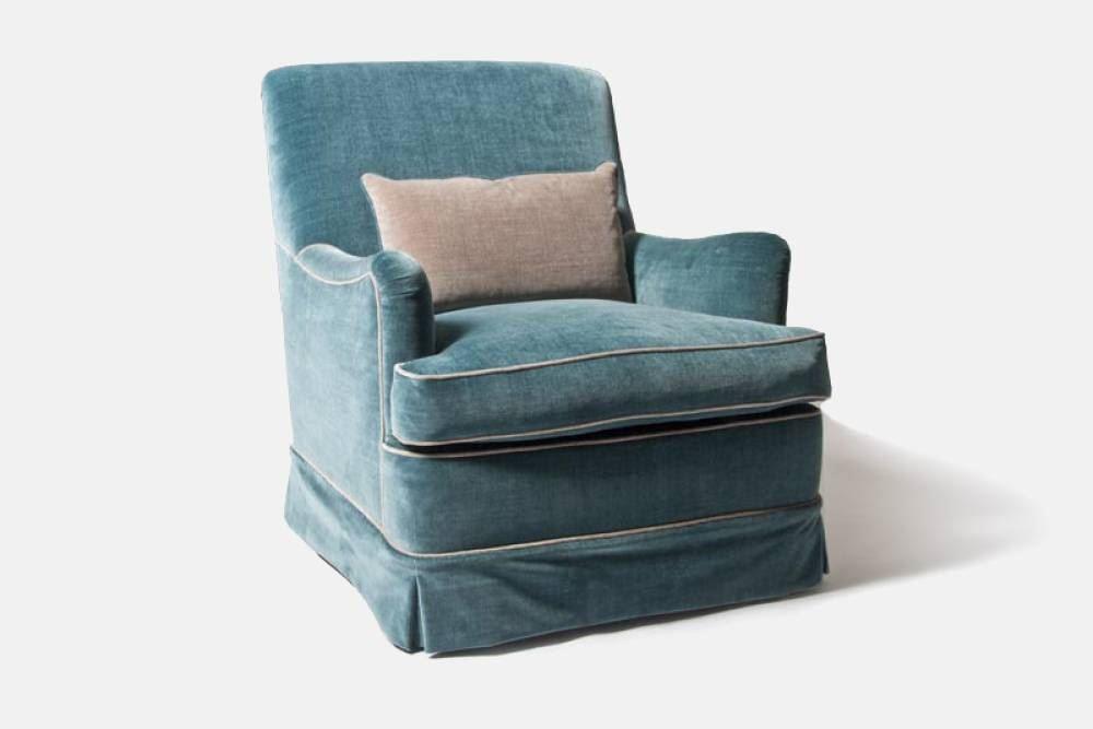 italian style armchair